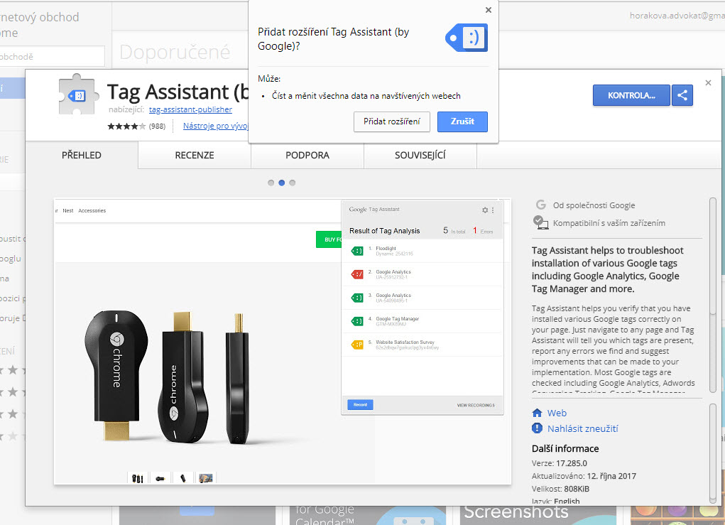 tag assistant chrome