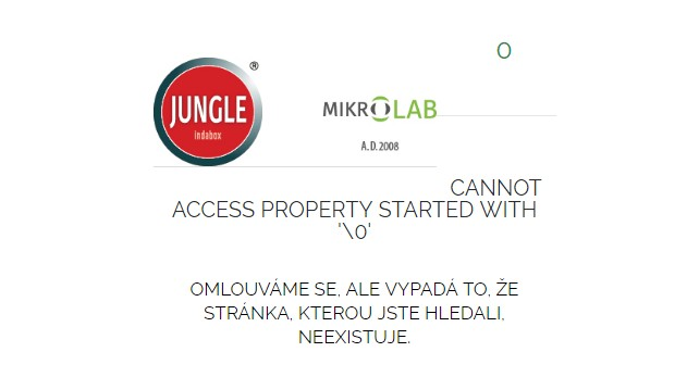 cannot access property started with 0